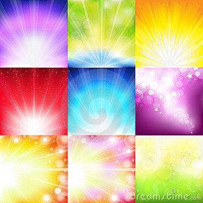 Free Abstract Background Set. Vector Stock Photos - 15335993
