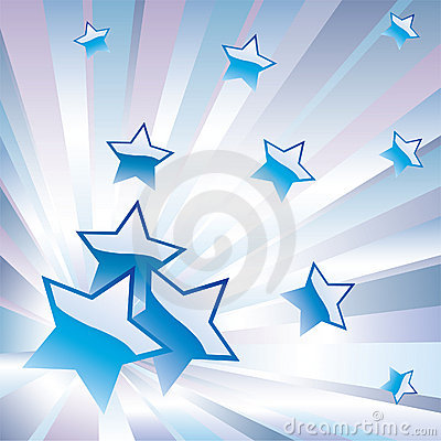 Abstract background with stars.