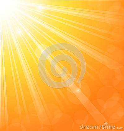 Abstract background with sun light rays