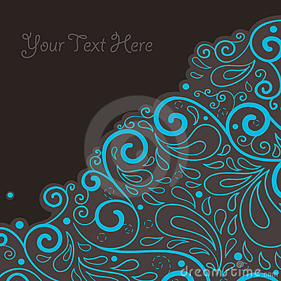 Abstract background with text field
