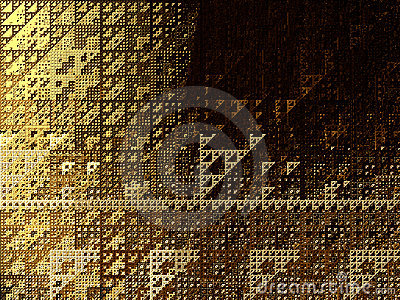 Abstract background- triangles
