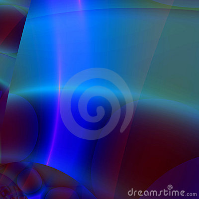 Abstract Background or Wallpaper in shades of blue and green