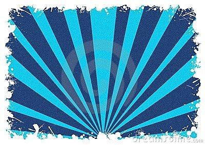 Abstract background white splash blue stripes