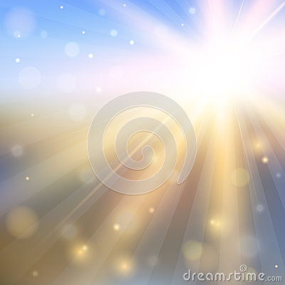 Free Abstract Background With Shining Sun Stock Images - 33152304
