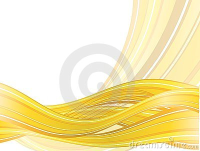 Abstract  background with yellow waves