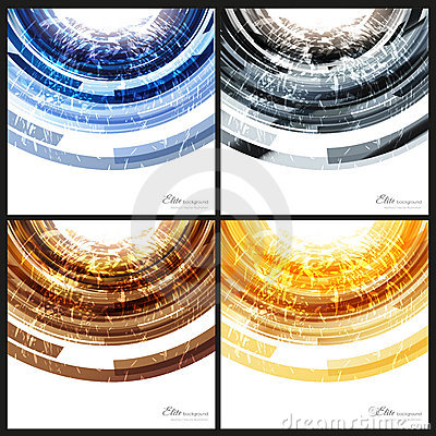 Abstract backgrounds templates