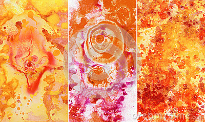Abstract backgrounds, watercolor