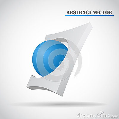 Abstract ball vector