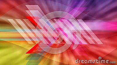 Abstract baner