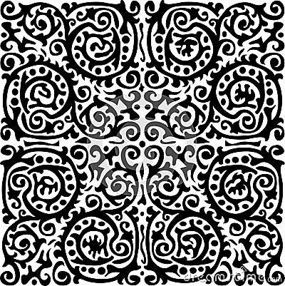 Abstract baroque