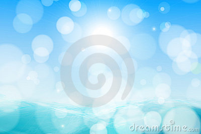 Abstract beautiful sea and sky background