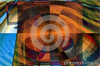 Abstract binary code e commerce