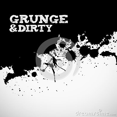 Abstract black grunge background