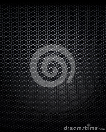 Free Abstract Black Music Speaker Background Stock Photography - 62222622