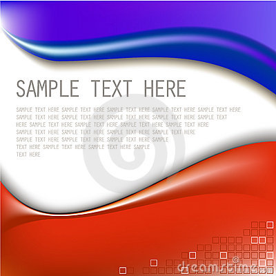 Free Abstract Blue And Red Background Stock Photography - 8062572