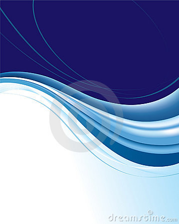 Free Abstract Blue Background Royalty Free Stock Images - 12863029