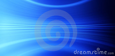 Abstract Blue Banner Background Stock Photo
