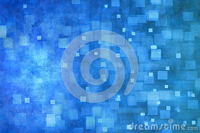 Abstract Blue Banner Background