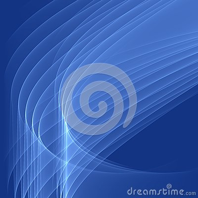 Free Abstract Blue Background. Bright Blue Lines. Geometric Pattern In Blue Colors. Royalty Free Stock Images - 48908159