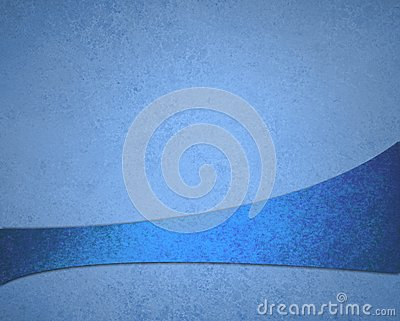 Abstract blue background luxury rich vintage grunge background texture design with elegant antique abstract ribbon stripe Cartoon Illustration