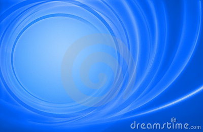 Abstract blue background power energy circles