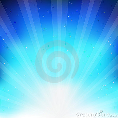 Free Abstract Blue Background. Vector Royalty Free Stock Images - 15150199