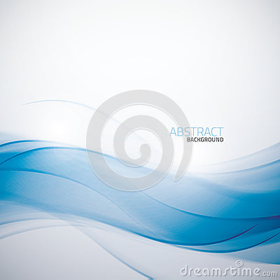 Free Abstract Blue Business Wave Background Template Ve Stock Photos - 37091863