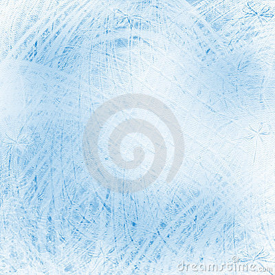 Abstract blue chaotic background with curve