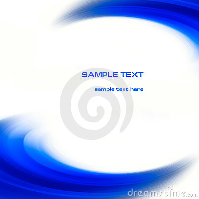 Free Abstract Blue Curves Background Stock Photography - 5390512