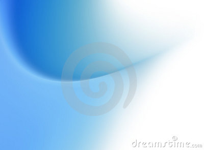 Abstract Blue Gradient Flare Background