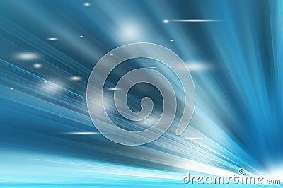 Abstract Blue Shades