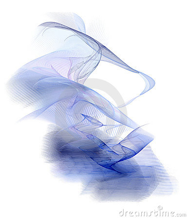 Free Abstract Blue Smoke Royalty Free Stock Images - 2600339