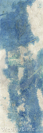 Abstract Blue Stain Texture