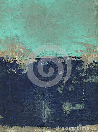 Abstract Blue And Turquoise