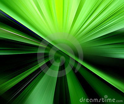 Abstract blurry background in green tones