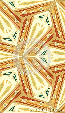 Abstract Boomerang Pattern