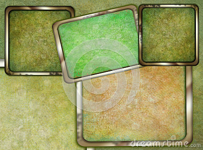 Abstract border frame background