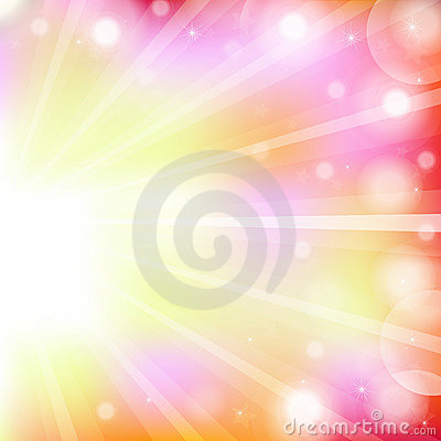 Free Abstract Bright Background. Vector Royalty Free Stock Image - 15335996