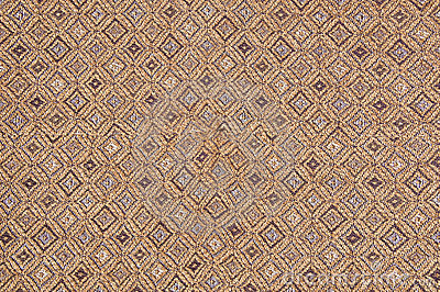 Abstract brown fabric texture with craftsmanship