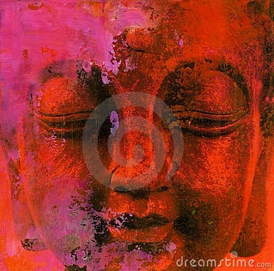 Free Abstract Buddha Royalty Free Stock Photos - 5951228
