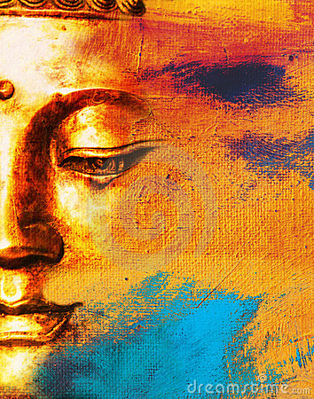 Free Abstract Buddhist Background. Royalty Free Stock Photo - 21922065