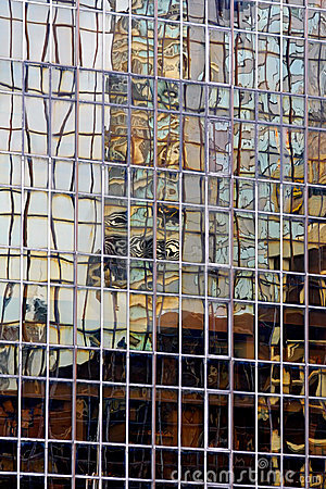 Free Abstract Building Reflection Stock Images - 5880664