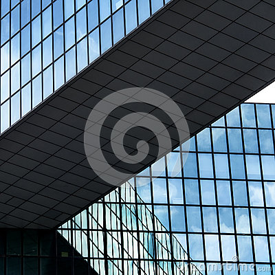 Abstract buildings lines