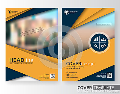 Corporate brochure flyer design layout template in a4 size with bleed - Abstract Business And Corporate Cover Design Stock Vector