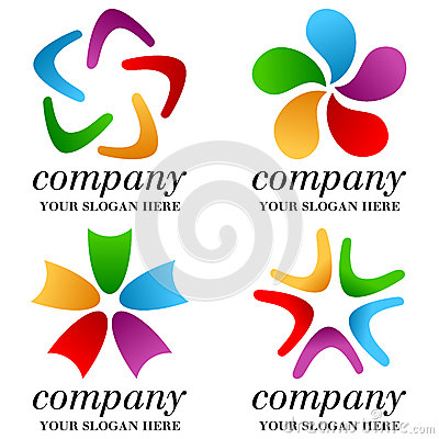Abstract Business Logos Set [1]