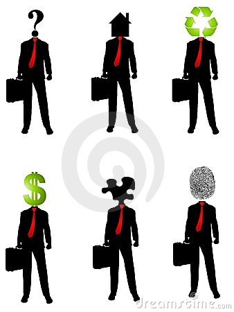 Abstract Businessman Concepts 2
