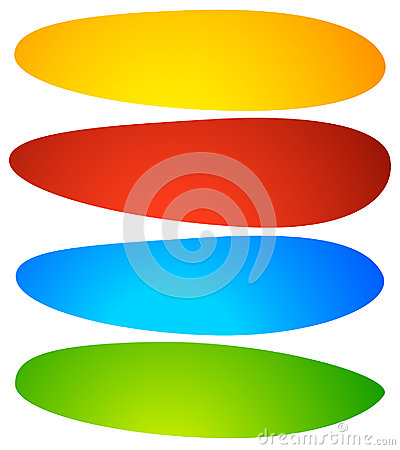 Free Abstract Button Or Banner Backgrounds, Shapes. Colorful Abstract Stock Images - 95581094
