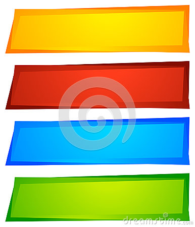 Free Abstract Button Or Banner Backgrounds, Shapes. Colorful Abstract Stock Image - 95581171