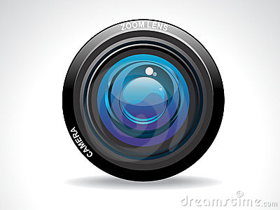 Abstract camera lense