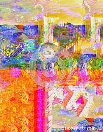 Abstract On Camvas